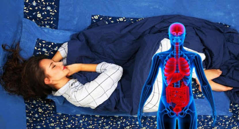 THIS IS WHAT HAPPENS TO YOUR BODY IF YOU SLEEP ON YOUR LEFT SIDE EVERY NIGHT FOR A MONTH